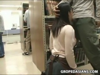 Asian Blowjob Clothed Public Teen