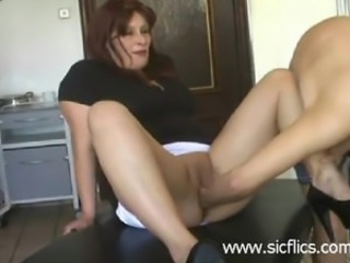 Amazing Fisting Kitchen Mature Shaved