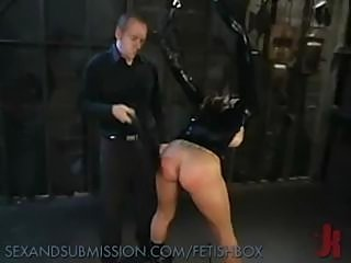 Hot looking brunette gets her ass whacked with his hard cock