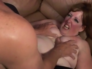 bbw granny here action on bed