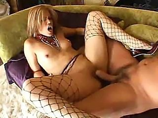 Fetish sex doll gets all of her holes drilled without any mercy