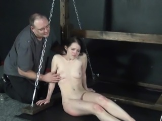 Electro tortured painslut Kamis x-rated sadism
