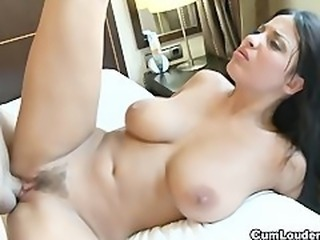 Babe Big Tits Brunette Cute Hairy Hardcore Natural