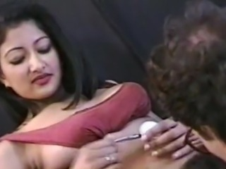 Amateur Amazing Cute Hairy Indian Licking
