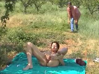 hot fuck uner the olive trees