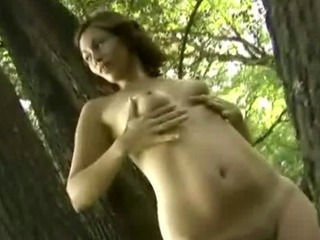 Sexy Latina Babe Naked Under the Tree