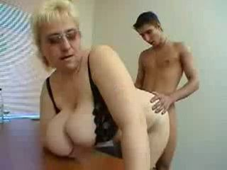 Mature Huge Tits teacher Seduces Her Teen Student