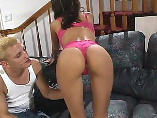 Incredibly Hot Latina Gets her Ass Pounded and a Facial