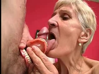 Granny Takes her Teeth Out for a...