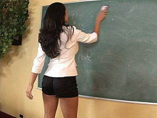 Sexy teacher Miss Carmella Bing...