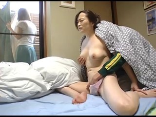 Young wife and young mother-in-law scene 6(censored)