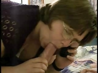 Blowjob Chubby Glasses Mature Pov