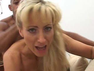 Blonde Doggystyle Hardcore Interracial