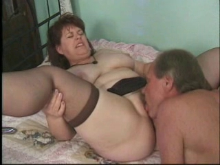 Chubby Licking Mature Stockings Wife