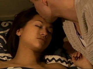 Cute French Kissing Sleeping Teen