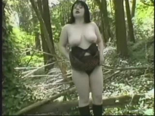 Amateur Big Tits Chubby Mature Outdoor Stripper