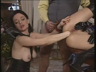 Fisting Latex  Threesome
