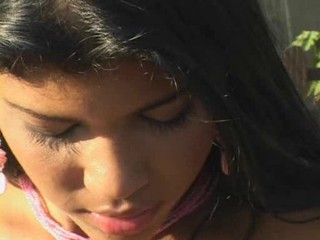 Amateur Latina Outdoor Teen