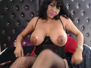 Anal Big Tits British Lingerie  Oiled Stockings