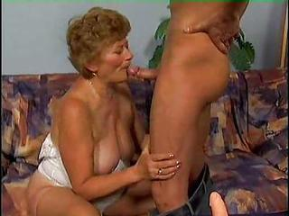 Hard Young Cock Driving Procure Be transferred to Granny Hole
