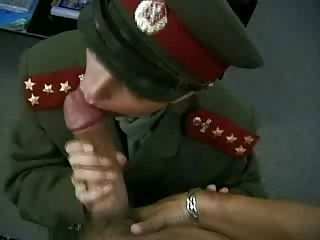 KGB Military Girl Fucks Recru...