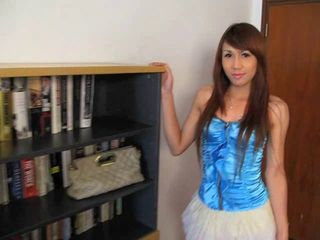 Thai Ladyboy Rose solo....