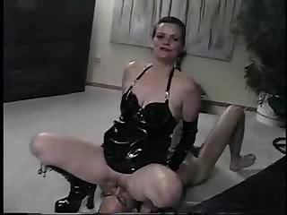 Strict mistress controls the ...