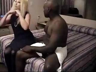 Hubby films his cream-skinned...