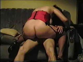 Swinger wife filled full of c...