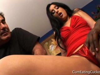 Luscious Lopez in Cum Eating ...