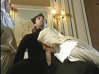 German porn - two nuns have s...
