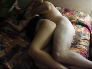 Lover fucks wife infront of hubby cuckold