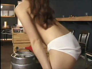 This slutty whore suckThis slutty whore sucks and teases a fat dick before she peels off her panties and rides this cock hard