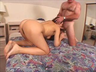 Young girl with hairy pussy And older guy