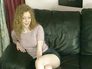 Cute Skinny Redhead Brit Teen Slut Fucked and Jizzed