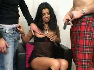 Fist fucking and DP'ing a hairy hottie