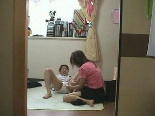 Japanese girls caught on spycam