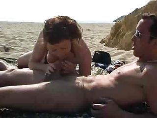 fucked hard on the beach