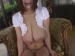 Busty Japanese Milking