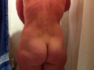 spy on hidden cam naked wife taking a shower