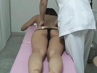 Asian HiddenCam Japanese Massage  Panty Voyeur