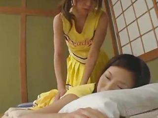 Asian Cheerleader Cute Japanese Massage Skinny Teen