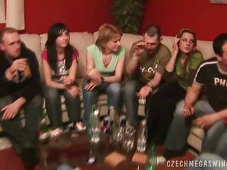 Horny Czech Couples In A Horby S...