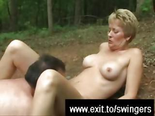 Licking Swinger Mom To An Orgasm...