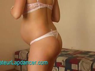 Pregnant Teen Does Lapdance And...