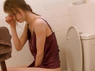 Amateur Cute Teen Toilet