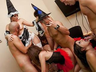 Halloween Fucking Party Close By...