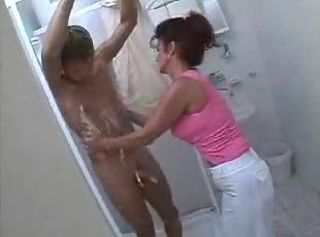 Big Tits Mature Mom Showers