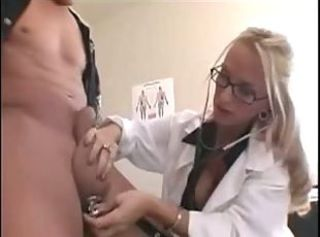 Hot nurse _: amateur chubby boobs
