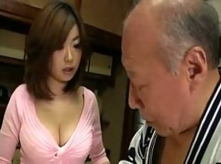 Asian Babe Big Tits Japanese Old and Young Pornstar